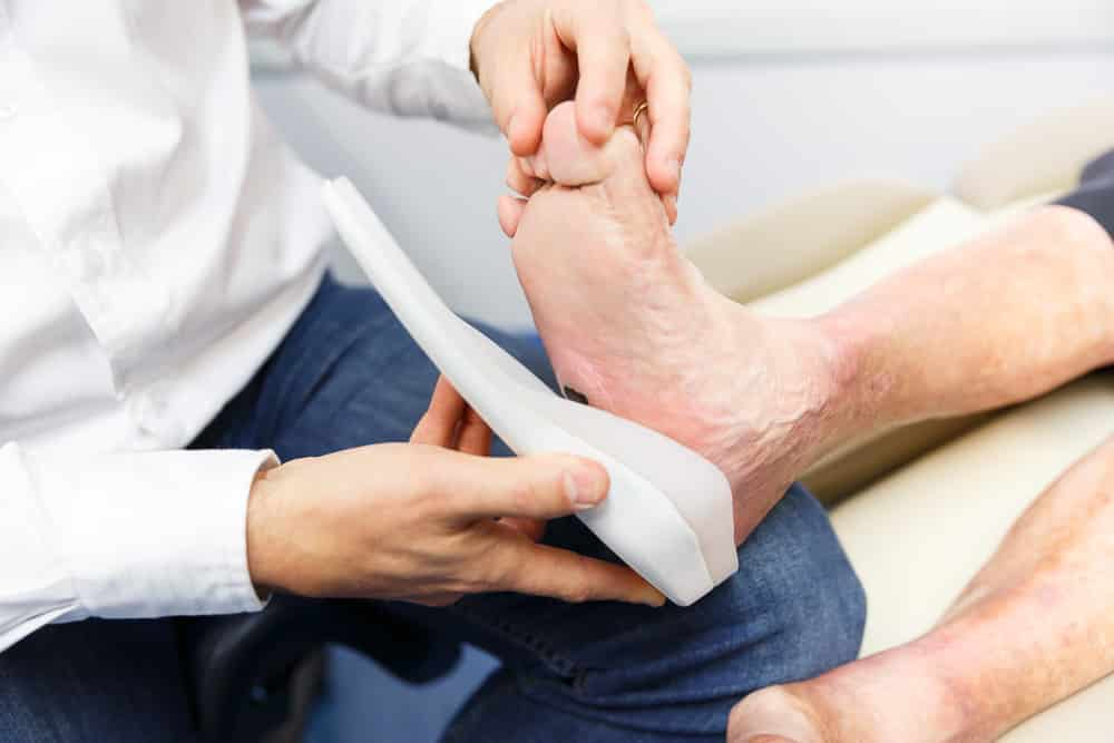 diabetic foot examination