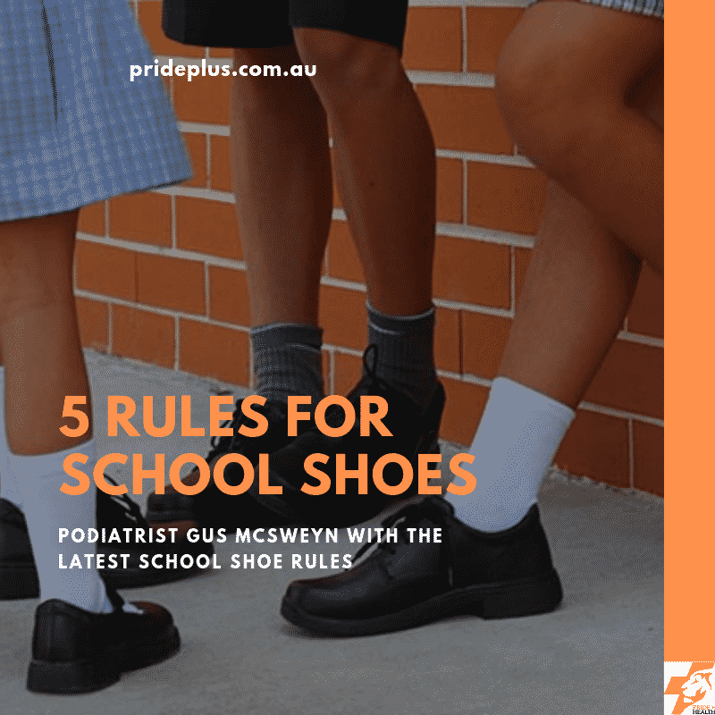 rules for school shoes