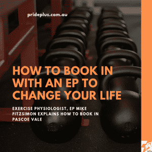 how to book in with an exercise physiologist