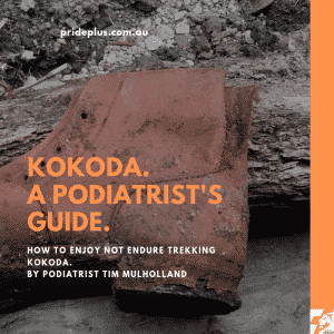 podiatrists guide to kokoda