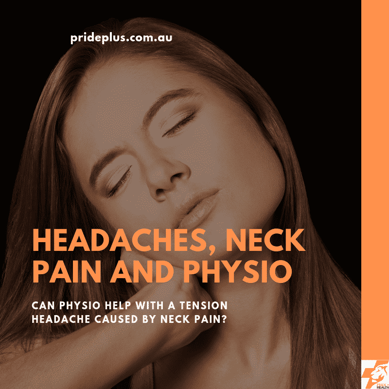 tension headache caused by neck pain