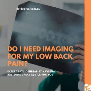do i need imaging for my low back pain pascoe vale physio