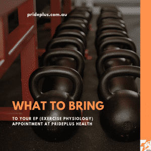 what to bring to your ep exercise physiology appointment pascoe vale