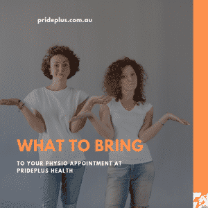 what to bring to your physio appointment pascoe vale