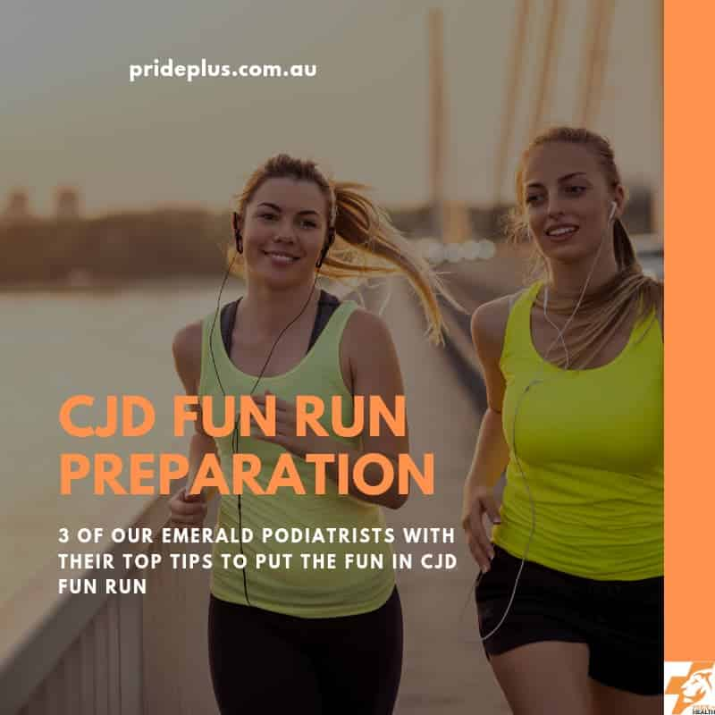 CJD Fun Run Podiatrist Emerald