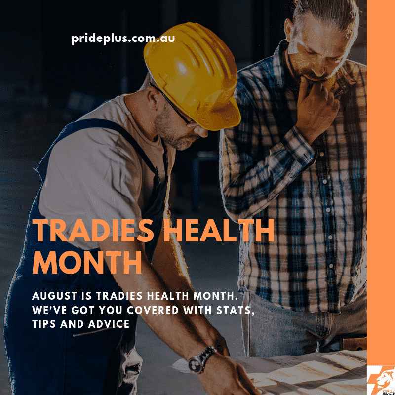 tradies health month physiotherapy