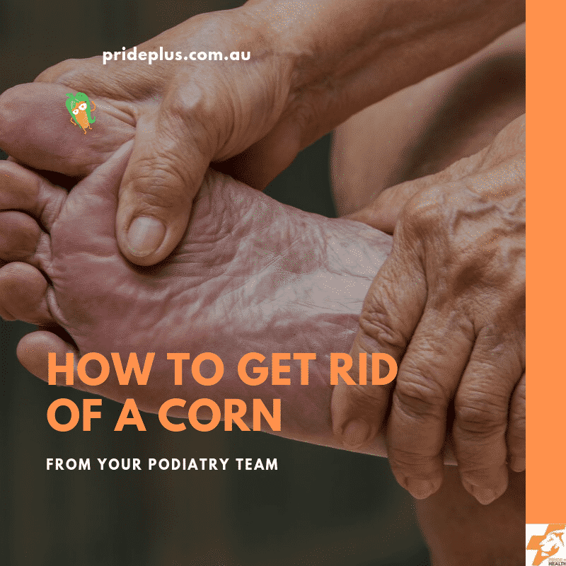 how to get rid of a corn from a podiatrist