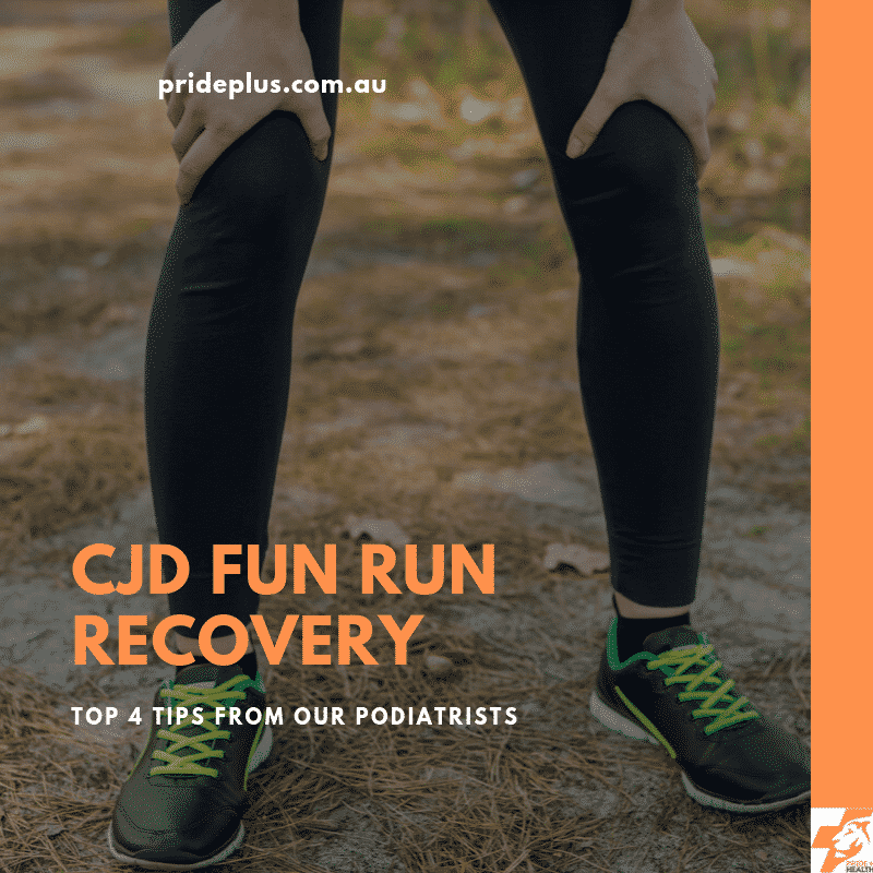 cjf fun run recovery from a podiatrist