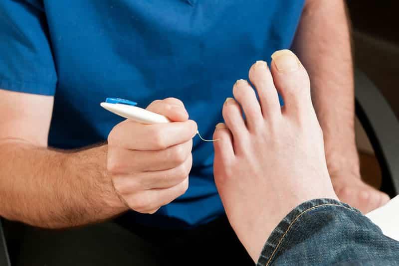 diabetic foot assessment