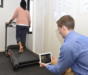 gait assessment with podiatrist