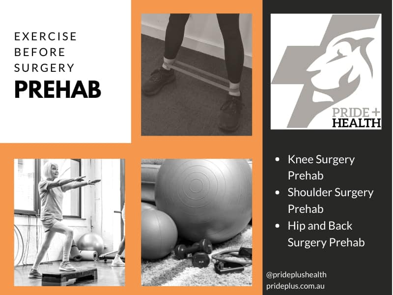 prehab exercise before surgery pascoe vale