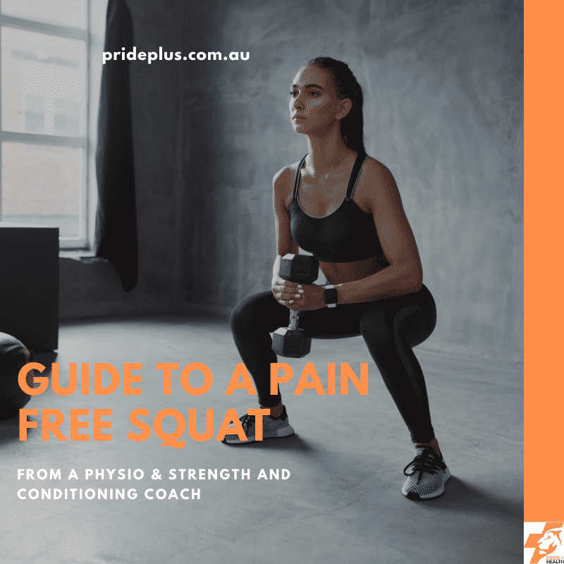 how to squat pain free and work our why it hurts when you squat