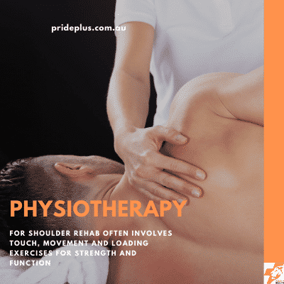post shoulder surgery rehabilitation with a physiotherapist will have you back to full health