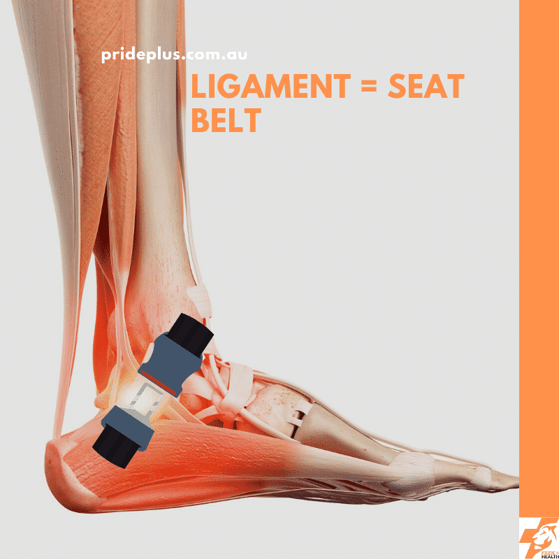 ankle ligament sprain and how to fix it