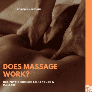 does massage work?
