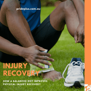 how a balanced diet improves physical injury recovery