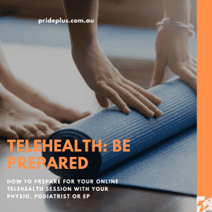 how to prepare for a telehealth or online physio session