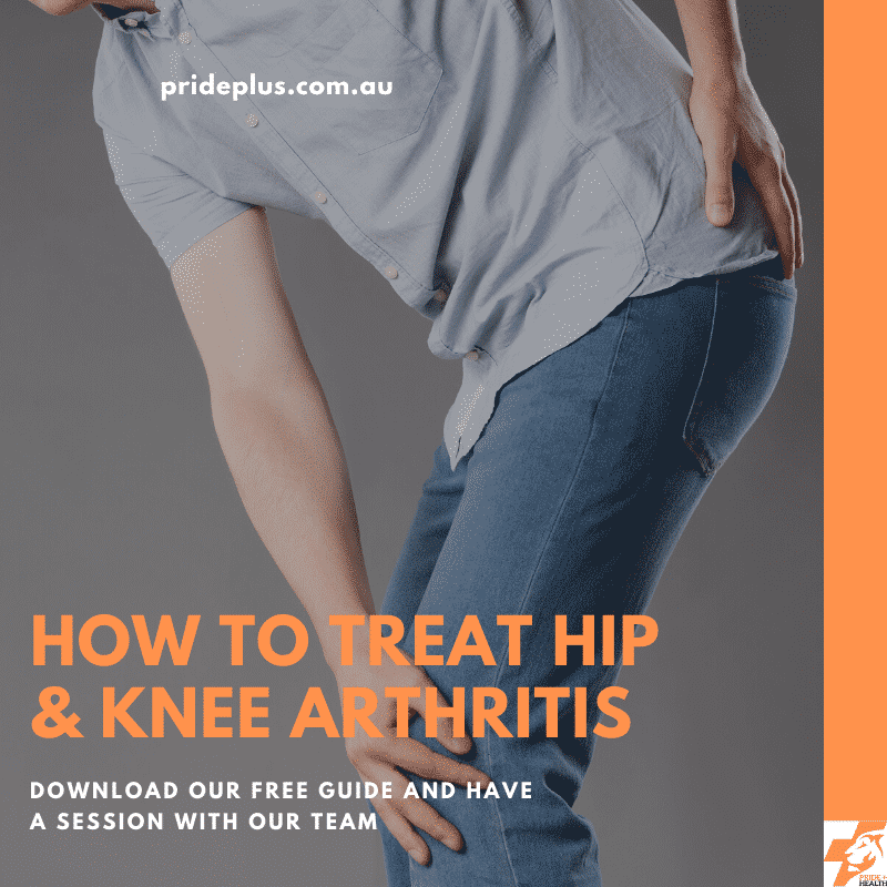 how to treat hip & knee arthritis guide