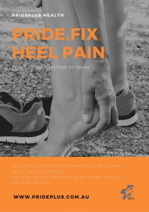guide on how to treat heel pain at home from podiatrists