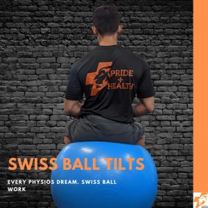 swiss ball lateral pelvic tilt best physio exercises for lower back pain
