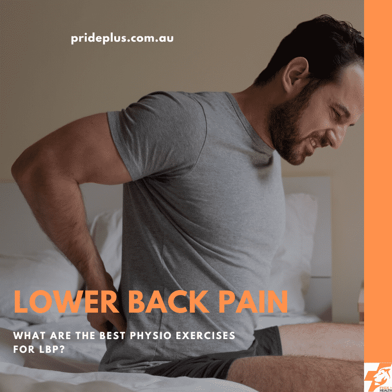 our physio explains the best exercises for lower back pain