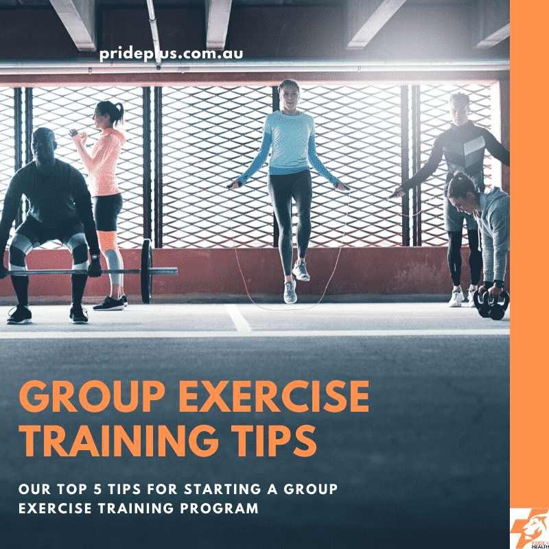5 tips to start f45 or group exercise training