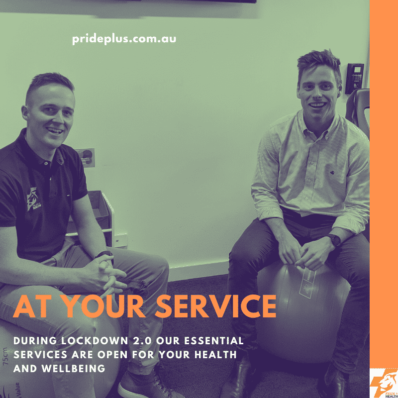 lockdown physio podiatry and exercise business open