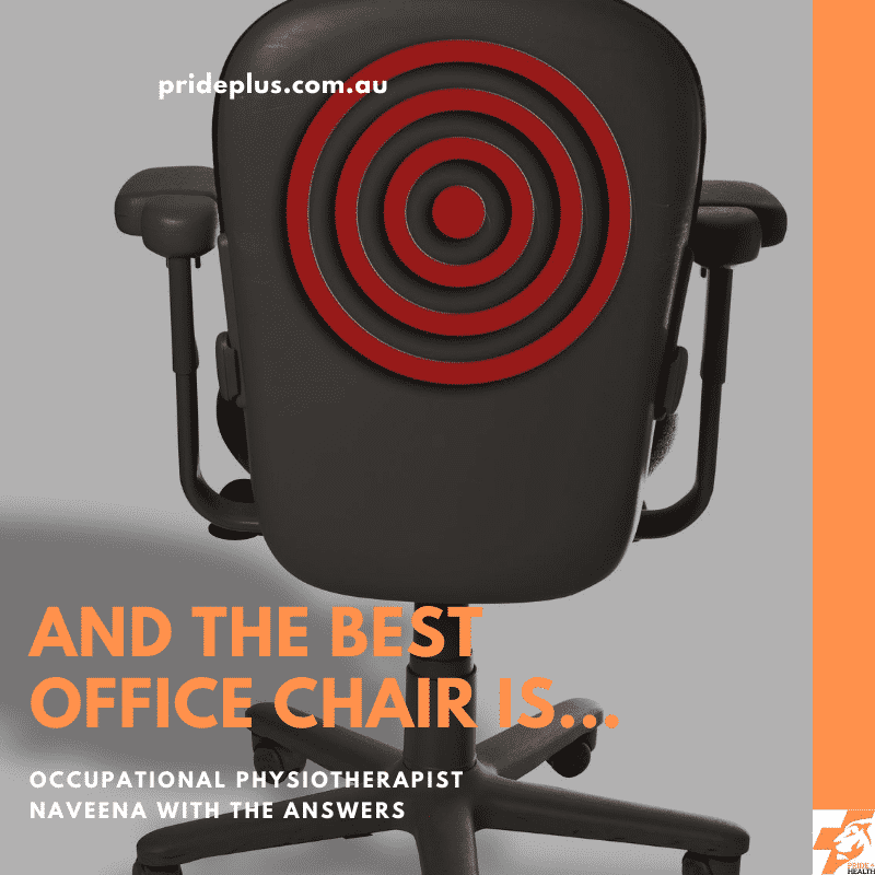 the best office chair from occupational physiotherapist expert