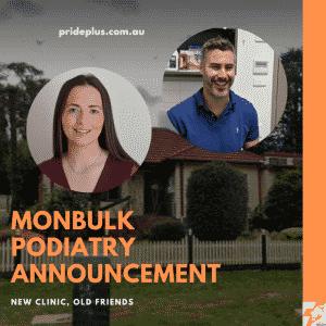monbulk podiatry announcement