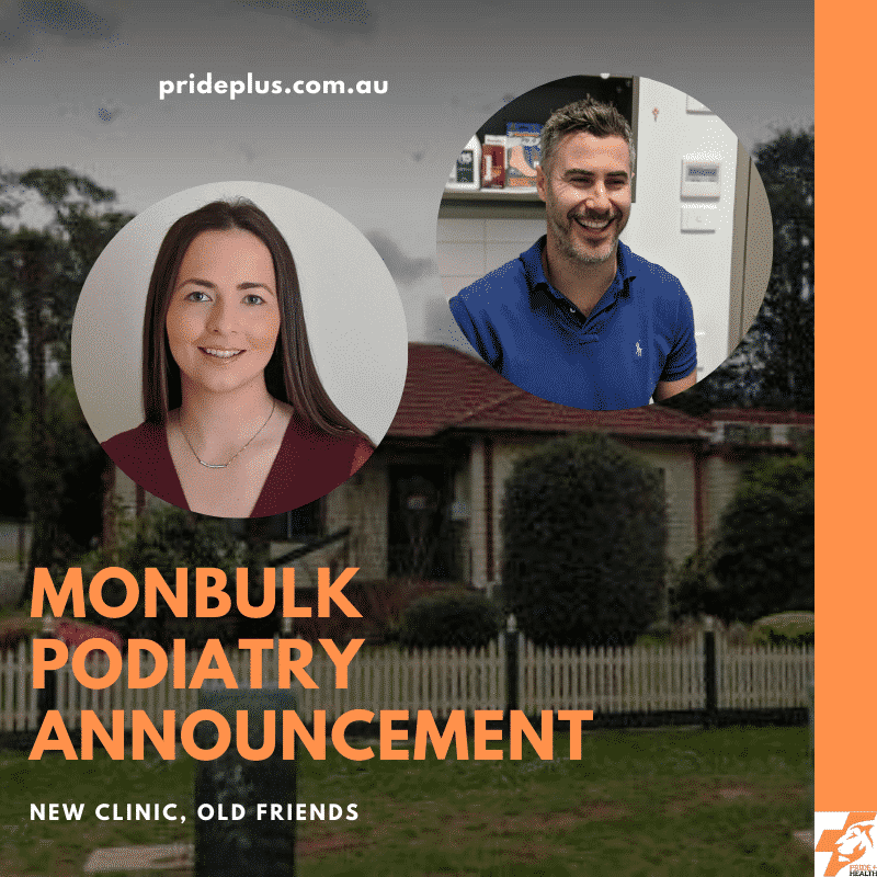 monbulk podiatry announcement
