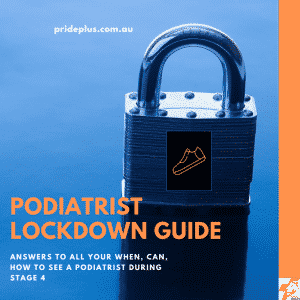 podiatrist lockdown guide