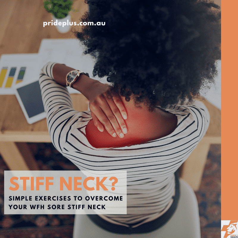 fix a stiff neck from working from home with these simple exercises from expert physiotherapist dominic