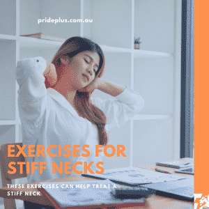exercises for stiff neck like sitting at a computer too long from expert physio