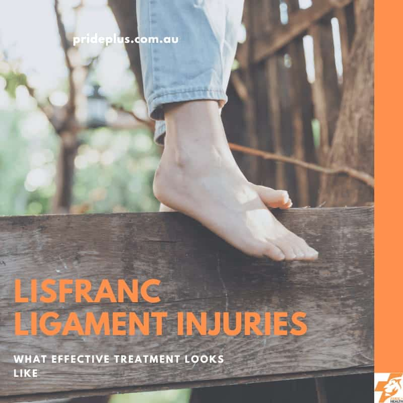 lisfranc ligament injuries advice from podiatrist as person walk barefoot pain free again