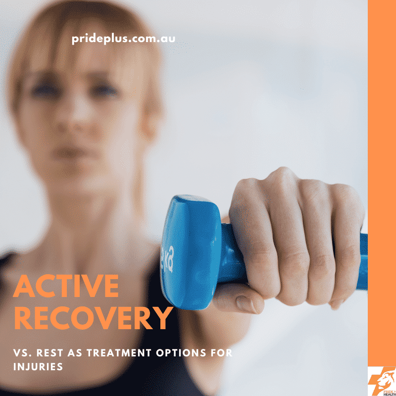 active recovery vs rest for injury treatment