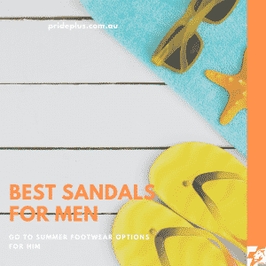 best sandals for men from melbourne podiatrist