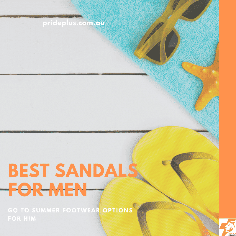 best sandals for men from melbourne podiatrist