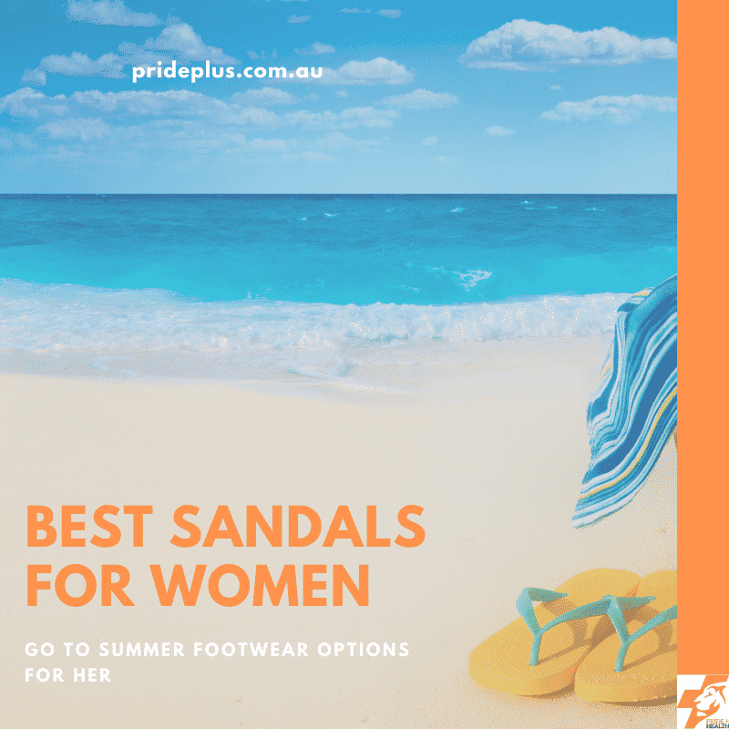 best sandals for women by melbourne podiatrist