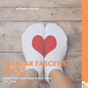 plantar fasciitis socks and advice on heel pain from podiatrist in melbourne australia