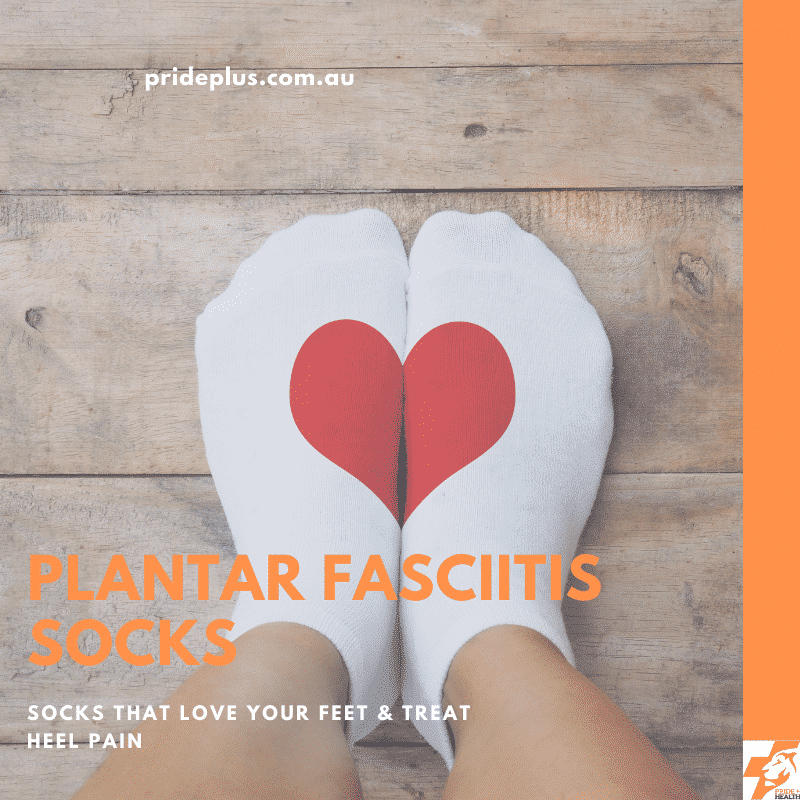 plantar fasciitis socks and advice on heel pain from podiatrist in melbourne australia