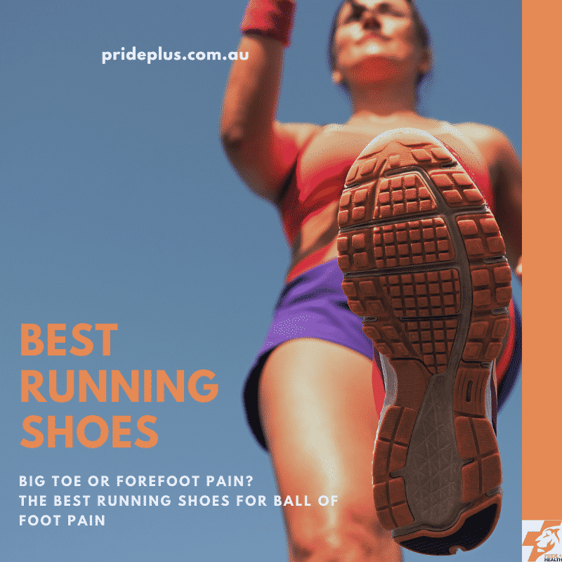 woman with sore ball of foot pain getting the best running shoes from an expert podiatrist