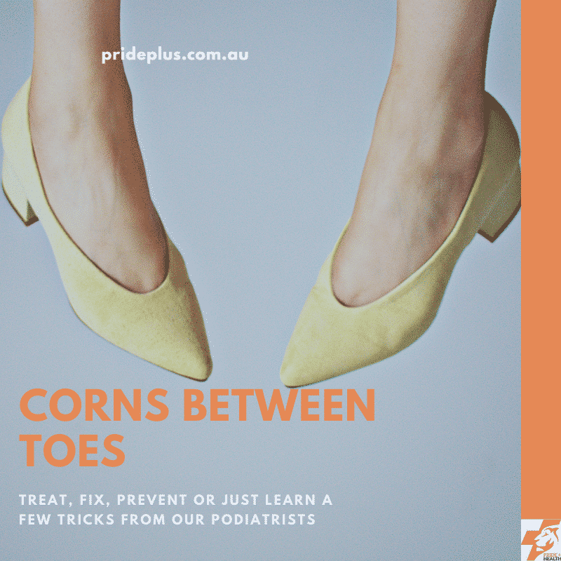 corn between toes womens shoes and podiatrist teaches how to fix