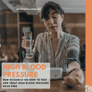 high blood pressure test and high blood pressure treatment drug free at home while woman tests blood pressure