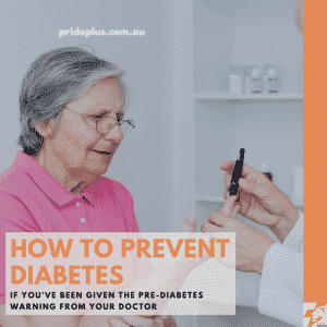 how to prevent diabetes with a doctor measuring a woman's blood sugar level