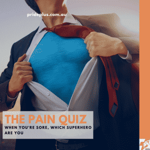 interactive pain quiz for When You're Sore, Which Superhero Are You