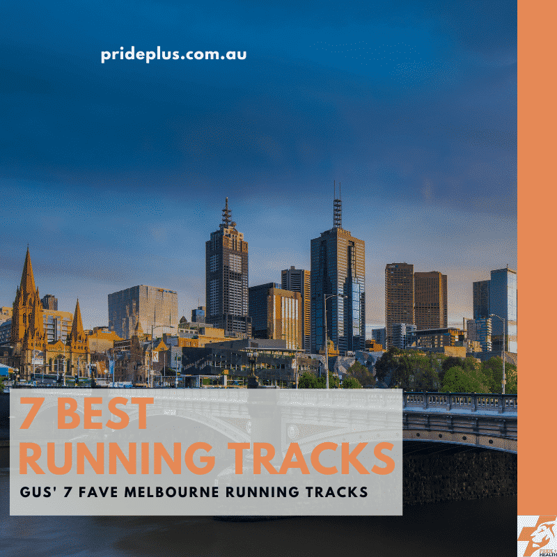 the 7 best running tracks in melbourne blog post with an image of melbourne skyline