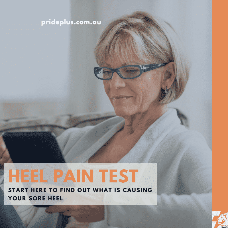 free online heel pain test developed by expert foot doctor and podiatrist