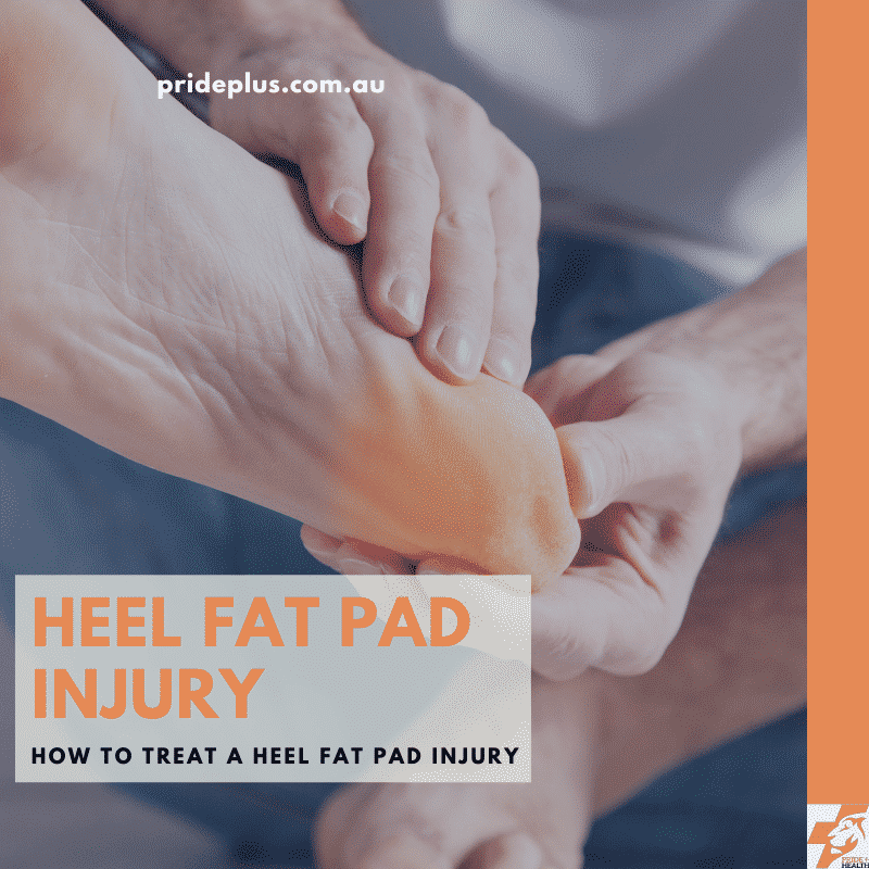 heel fat pad injury and treatment advice from expert podiatrist