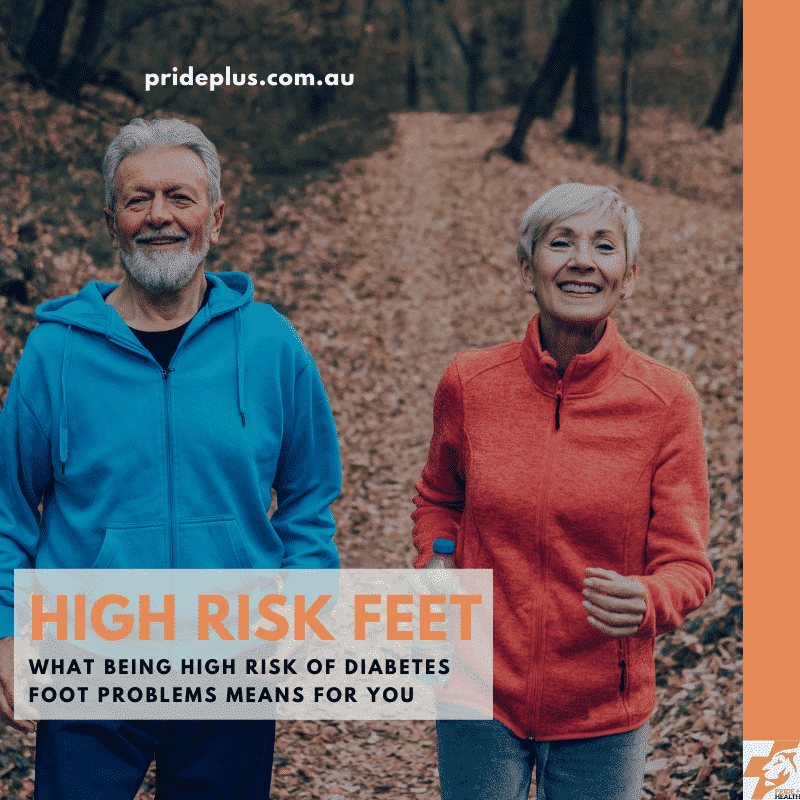 high risk of diabetes foot problems advice from podiatrist