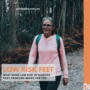 low risk of diabetes foot problems advice from podiatrist